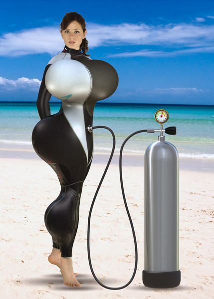 Wetsuit inflation 1