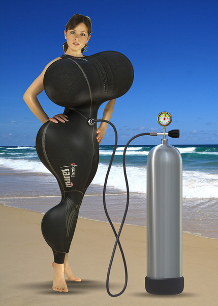Wetsuit inflation 2