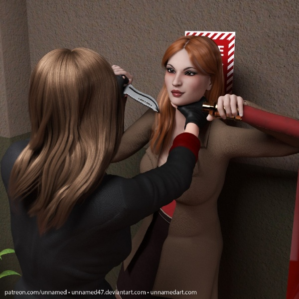 Hitwoman Fire Hose Inflation 08