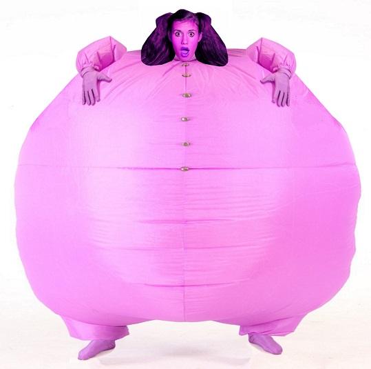 Overinflated chub suit