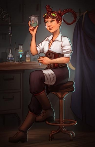Emily Gold: Portrait
