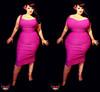 Pink dress morph
