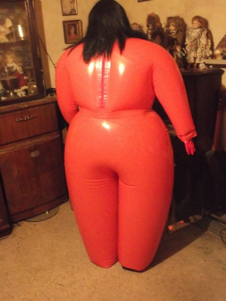 the new production inflatable pvc suits